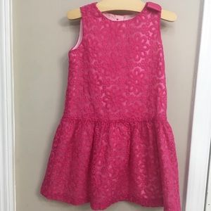 Dress Up By Gymboree Pink Organza Party Dress 4T